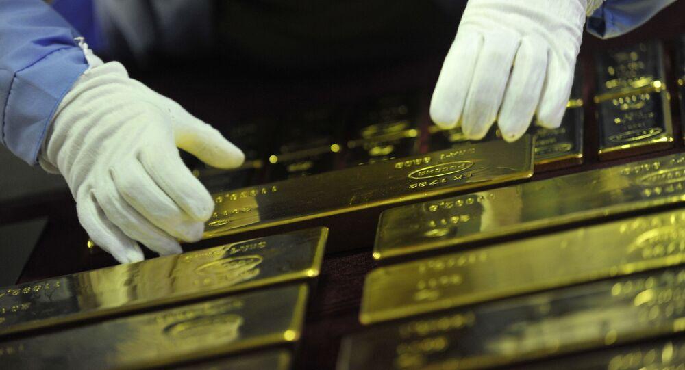 Des lingots d'or (image d'illustration)