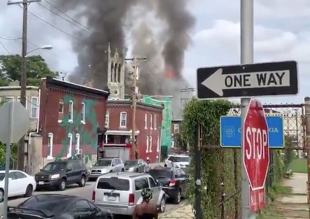 Incendie du Greater Bible Way Temple