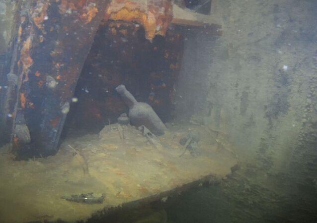 Images inédites d'une épave mythique engloutie dans l'Arctique