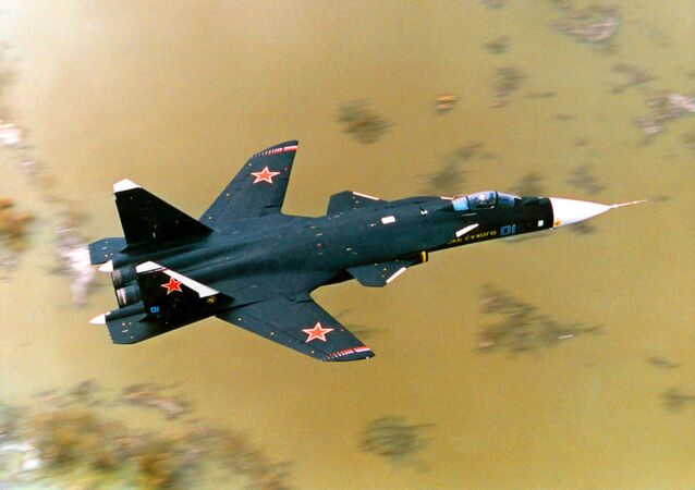 Un Su-47 en vol (archive photo)