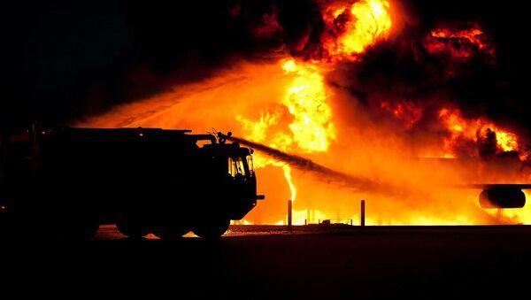un incendie (image d'illustration) - Sputnik France