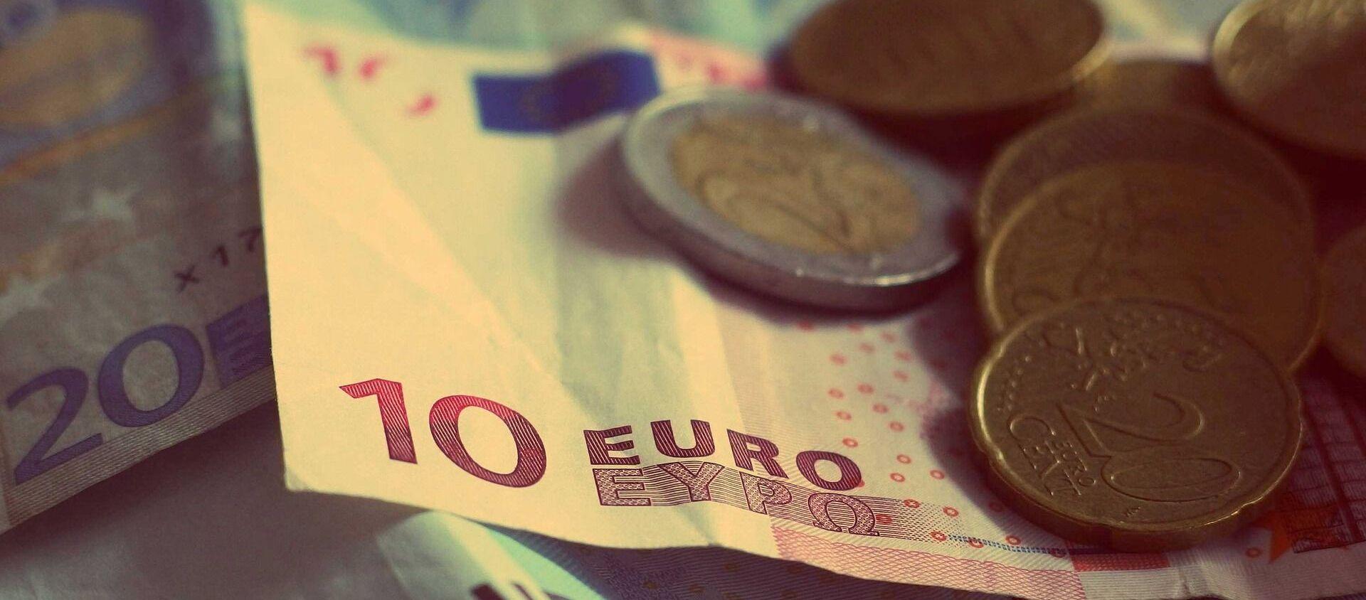Des euros  - Sputnik France, 1920, 11.05.2021