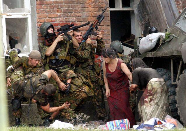 Beslan, le 3 septembre 2004