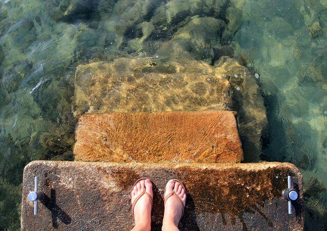 montée du niveau de la mer (image d'illustration)