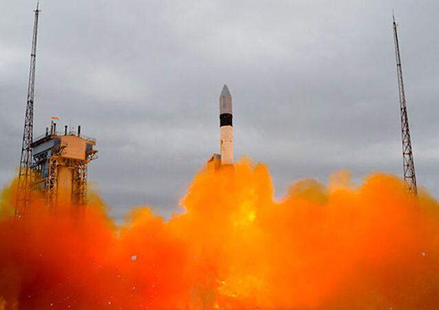 Lancement d'une fusée-porteuse Rokot (photo d'archive)