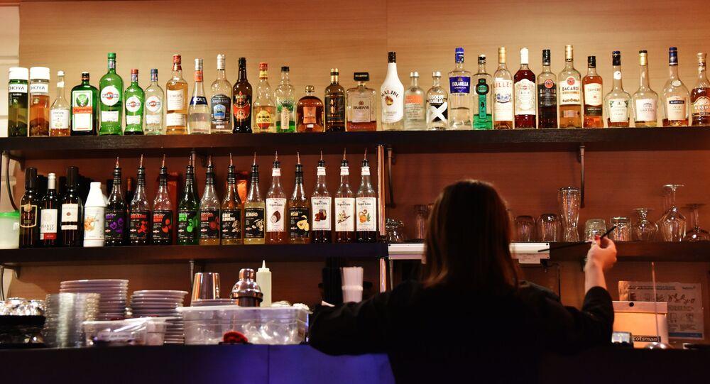 Un bar (image d'uillustration)