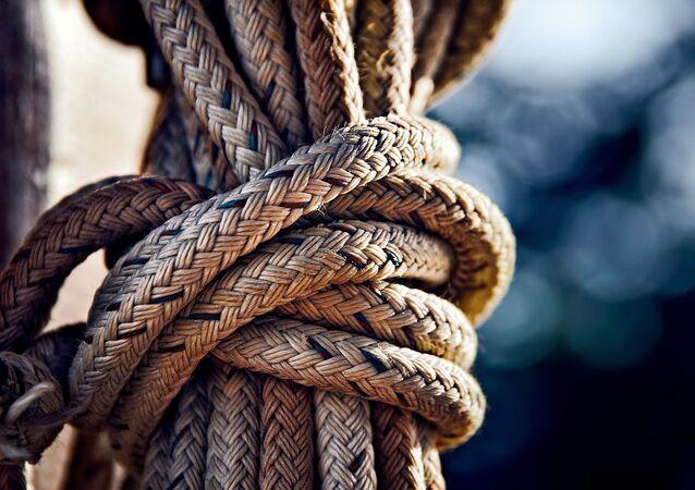 Une corde (image d'illustration)