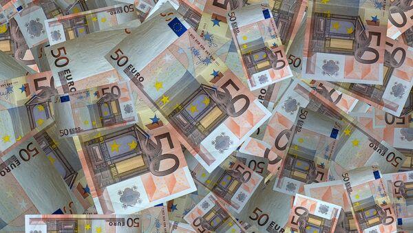 Des billets de 50 euros. - Sputnik France