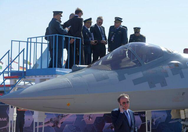 La délégation algérienne à Maks a visité deux fois le Su 57