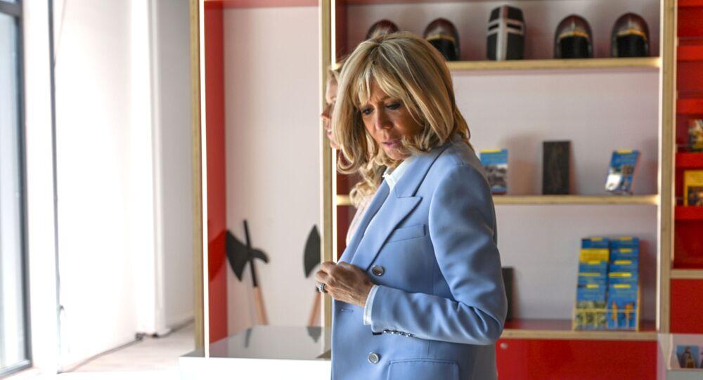 Brigitte Macron, le 29 août 2019