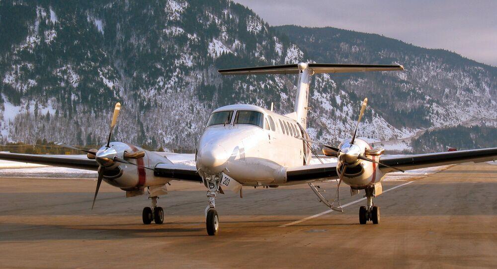 Un avion King Air. Image d'illustration