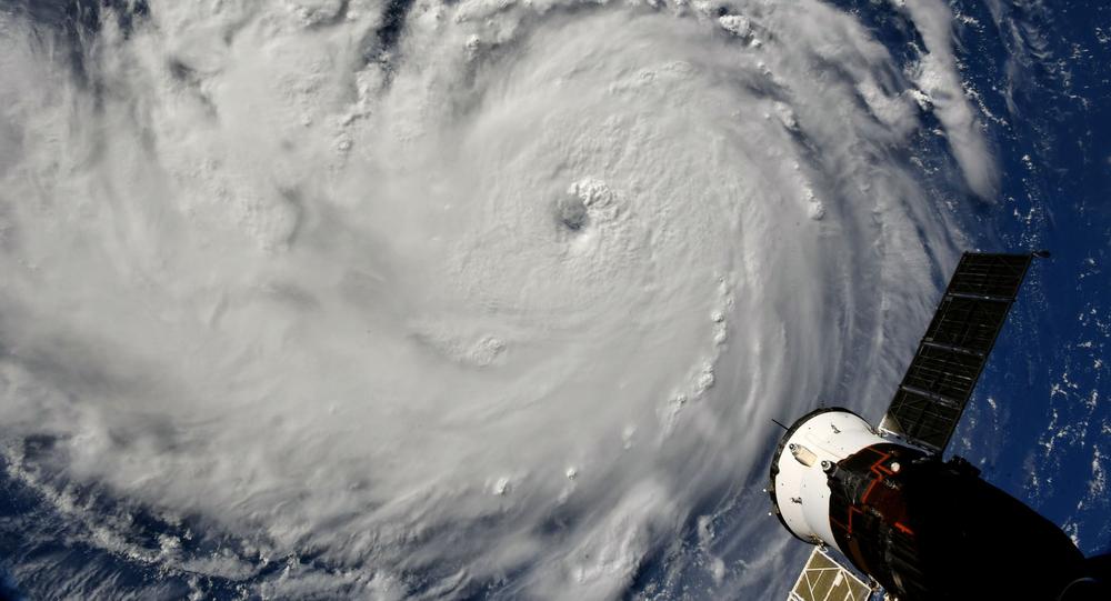 L'ouragan Florence en 2018