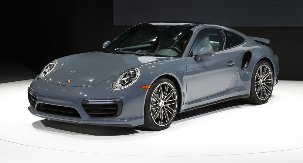 Une Porsche 911 Turbo
