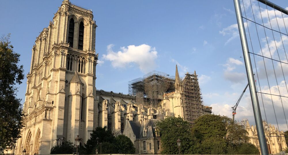 Notre-Dame de Paris en cours de restauration, 2019
