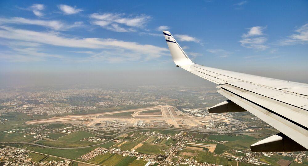 Vue sur l'aéroport David-Ben-Gourion