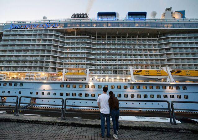 Un navire de croisière (image d'illustration)