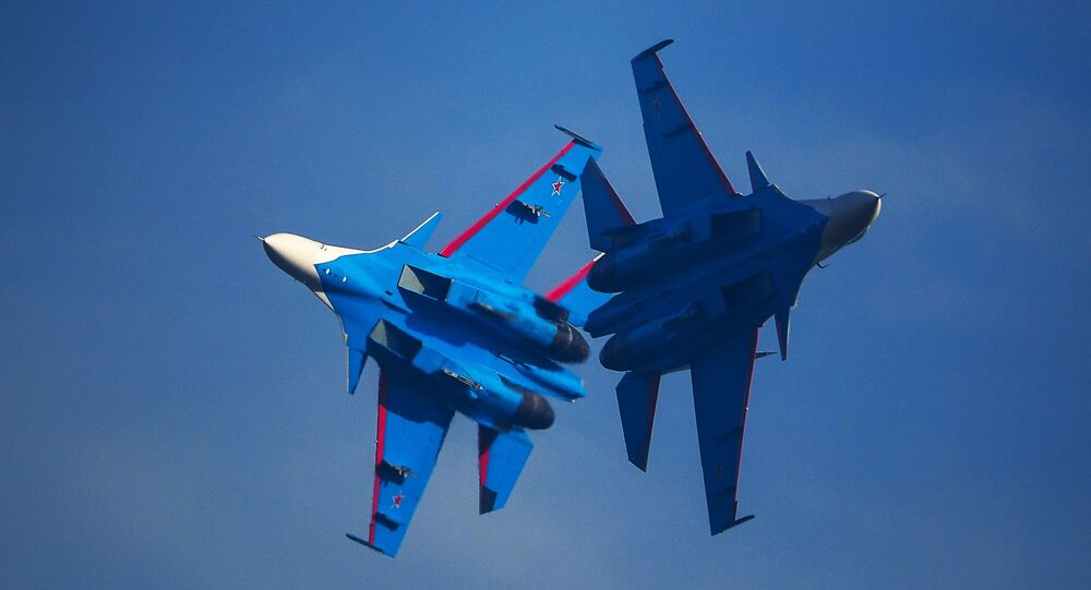 Des Su-30SM, image d'illustration