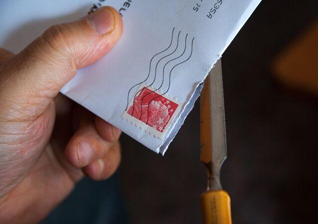 Une lettre, image d'illustration
