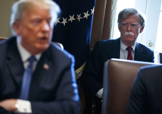 Donald Trump et John Bolton
