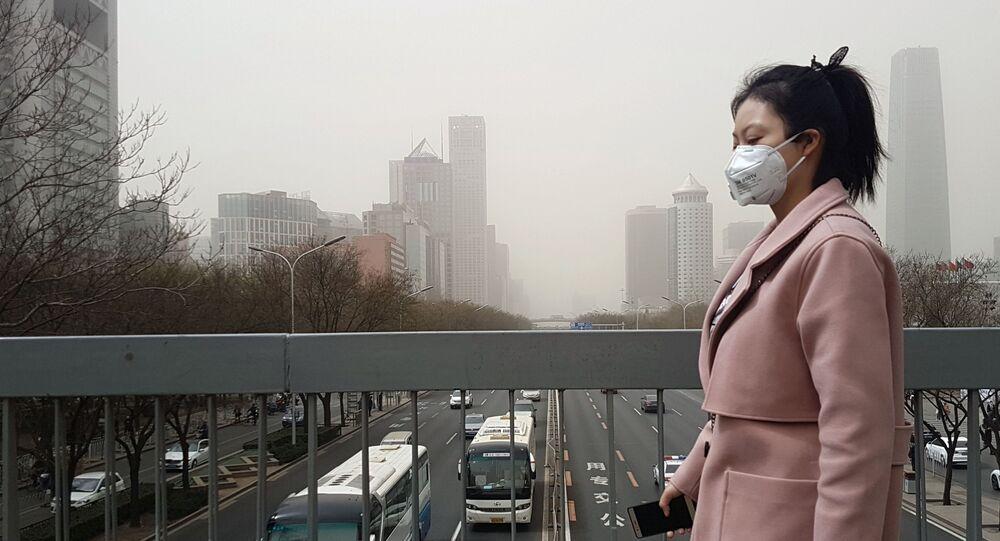 Une Chinoise à Pékin  (image d'illustration)