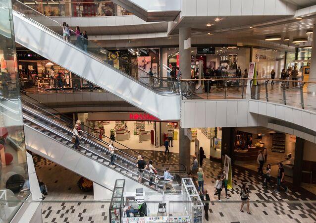 un centre commercial (image d'illustration)