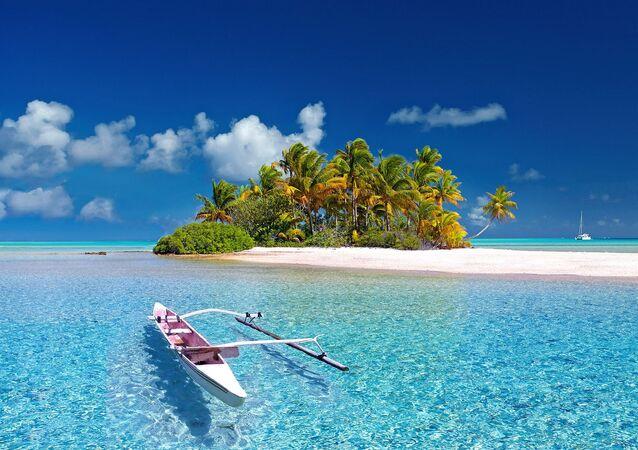 Une île