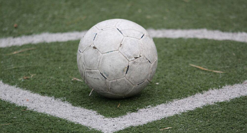Un ballon de football
