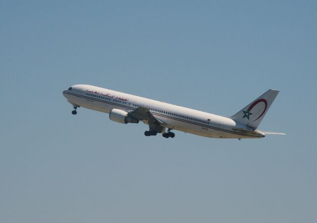 Avion de la Royal Air Maroc
