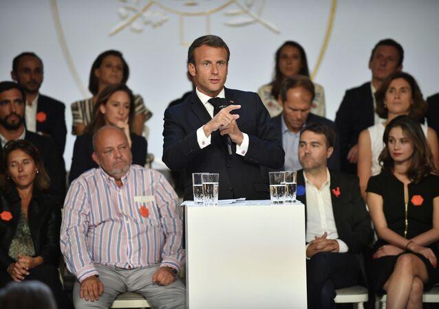 Emmanuel Macron, France Digitale Day 2019