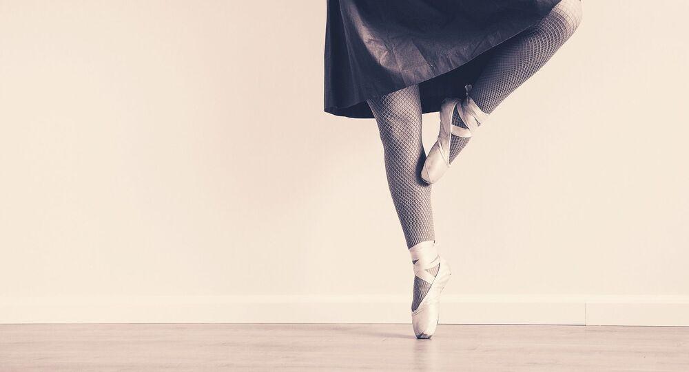 une ballerine, image d'ilustration