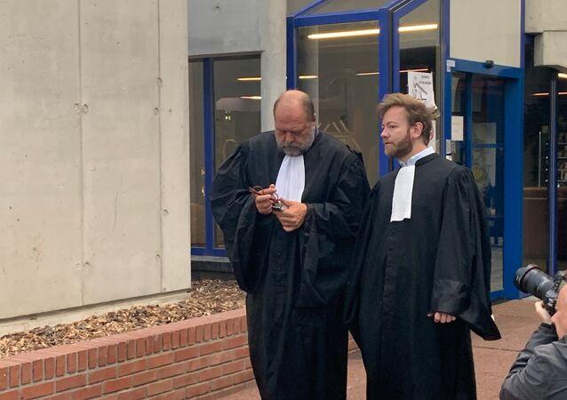 Éric Dupond-Moretti au tribunal de Bobigny, 19 septembre 2019