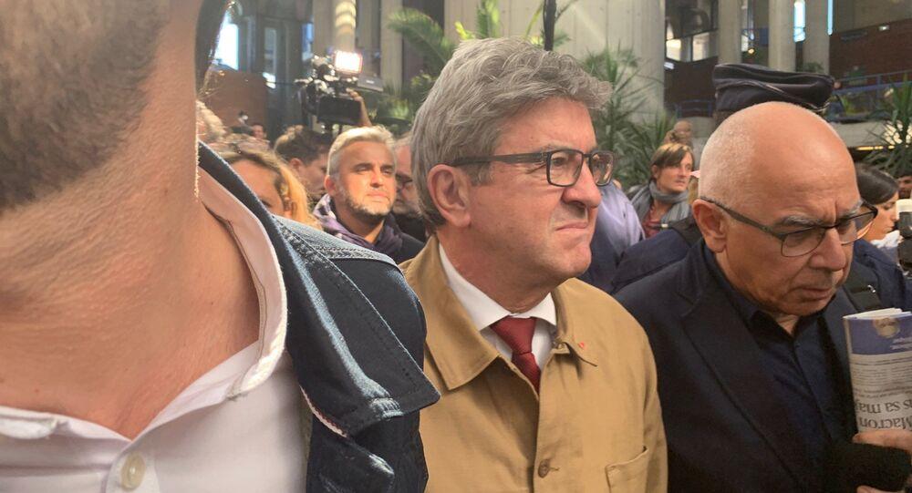 Jean-Luc Mélenchon au tribunal correctionnel de Bobigny, 19 septembre 2019