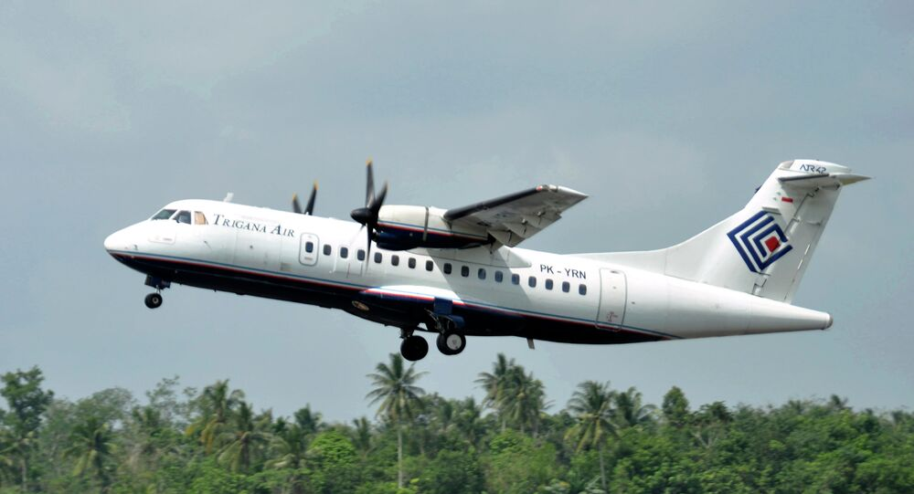 Un avion ATR42-300