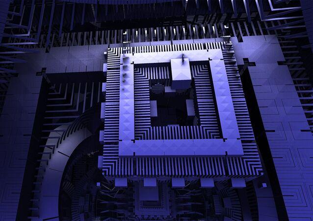 Ordinateur quantique, image d'illustration