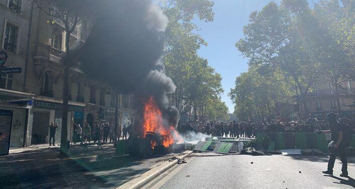 Violences lors de la marche climat, le 21 septembre