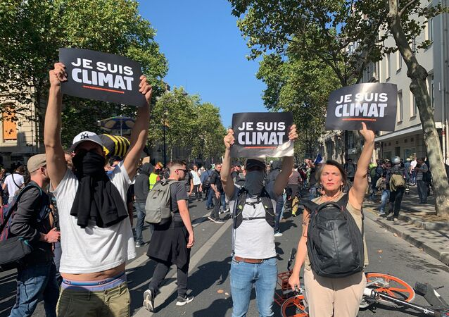 Marche pour le climat, le 21 septembre à Paris