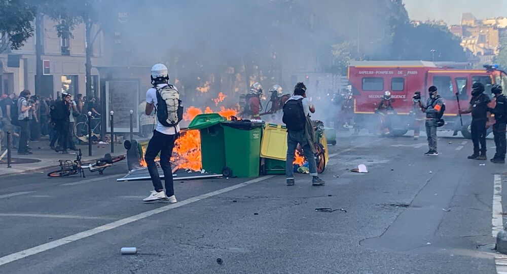 La journée de manifestations du 21 septembre à Paris