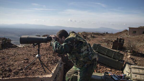 Un poste d'observation syrien dans le gouvernorat de Quneitra (archive photo) - Sputnik France