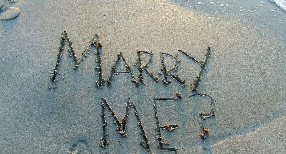 Une demande en mariage (image d'illustration)