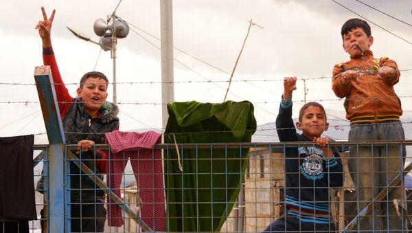 Camp de réfugiés syriens en Irak - Sputnik France