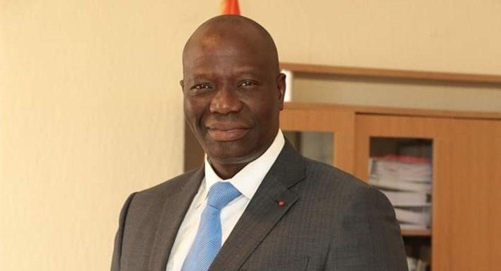 Sanogo Mamadou, ministre de l'Economie numérique et de la Poste de Côte d'Ivoire