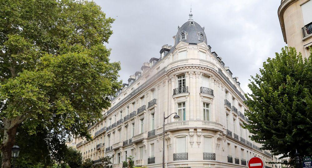 Appartement parisien de Jeffrey Epstein