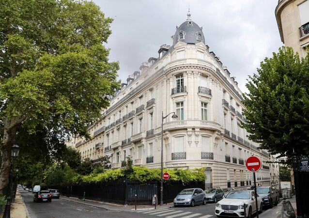 Appartement parisien de Jeffrey Epstein