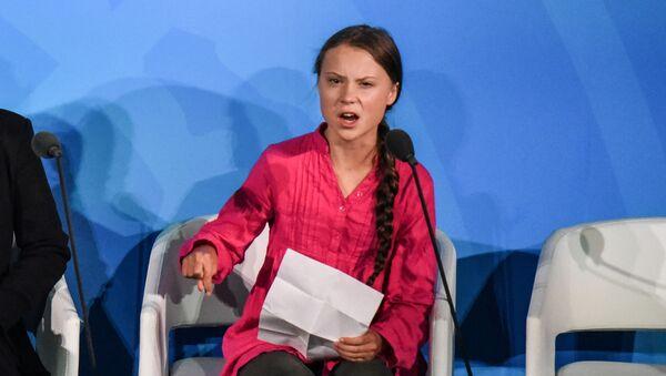 Greta Thunberg à l'Onu - Sputnik France