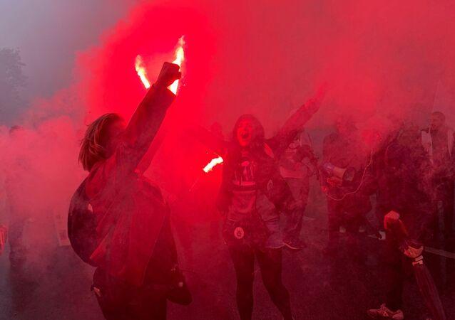 Manifestation interprofessionnelle à Paris contre la réforme des retraites, 5 décembre 2019