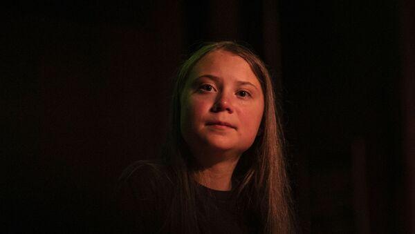Greta Thunberg   - Sputnik France