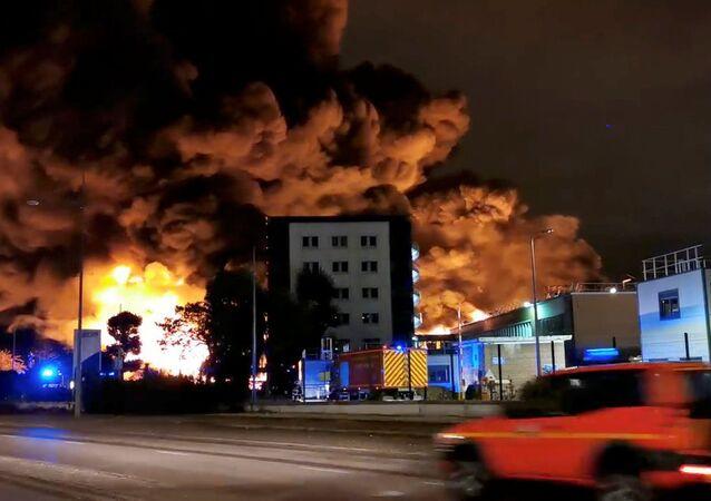 L'incendie de Lubizol à Rouen