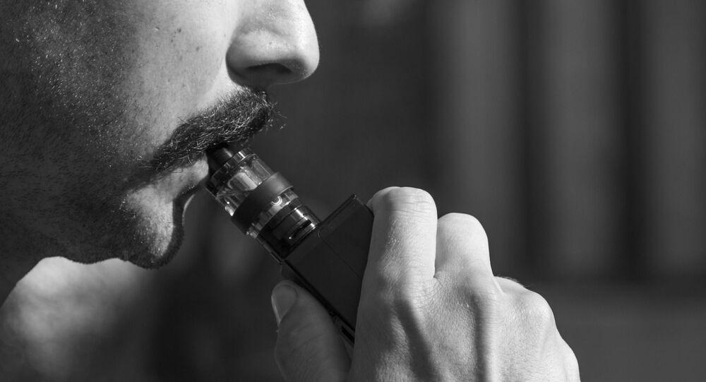 e-cigarette (image d'illustration)
