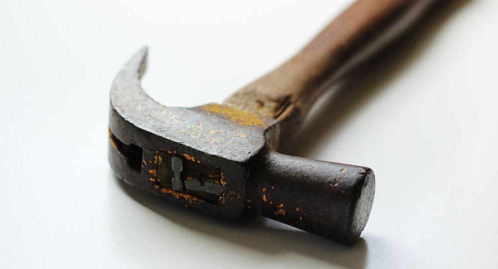 Un marteau (image d'illustration)