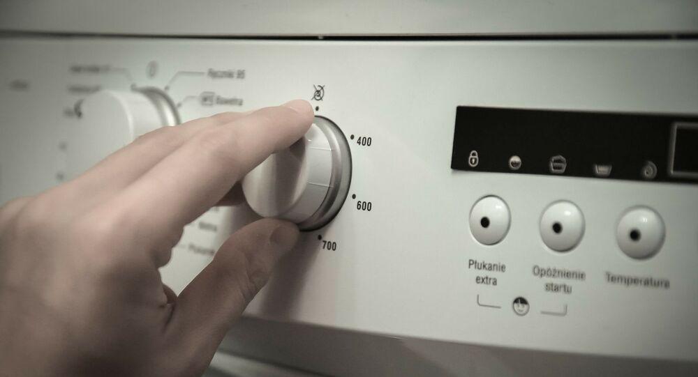 Une machine à laver (image d'illustration)